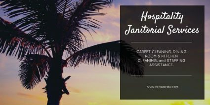 Janitorial Services for Hospitality